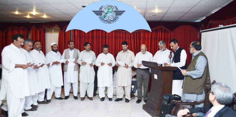 6th Oath Ceremony of Travel Agents Association KP